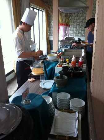 Baiyoke Boutique Hotel: Breakfast buffet