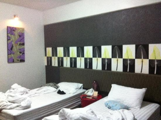 Baiyoke Boutique Hotel: room