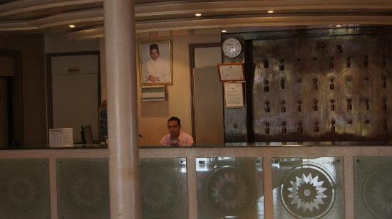Hotel Le Zat: Hall