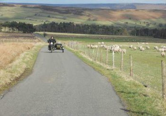 Sidecar Safari Peak District- Day Tours: The Great Escape