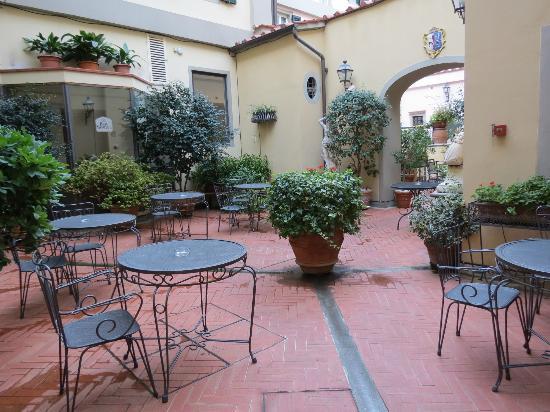 Rivoli Boutique Hotel: Garden