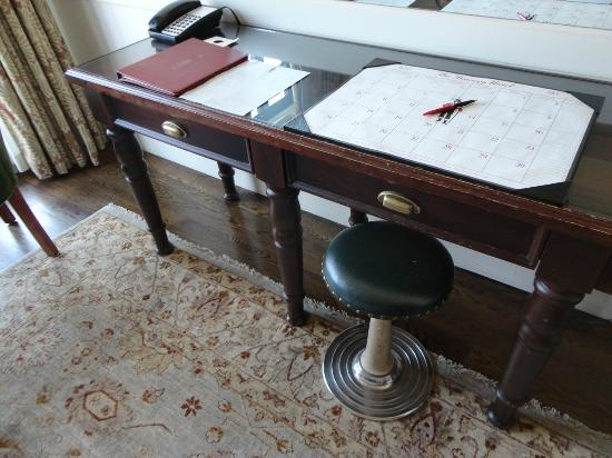 The Bowery Hotel: Desk in the room