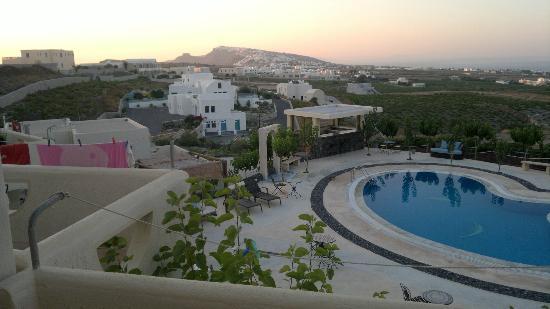 Santorini Mesotopos: Balcony view Room 3