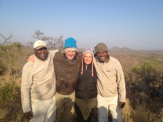 Idube Game Reserve Lodge: Andries Neil Tania Ribon