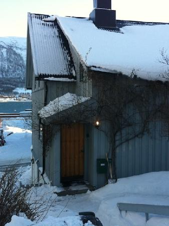 Tromso Bed & Books: Entrance to the Writer's home