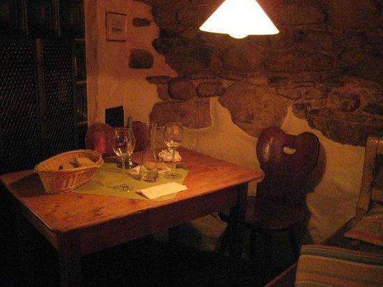 Tamaras Weinstube Zum Guten Hirten: il nostro tavolo