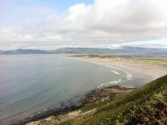 Towers Hotel: View of Rossbeigh beach.