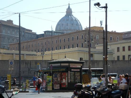 Hotel Dei Consoli: View from location near hotel