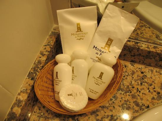 Hotel Monasterio de Piedra & Spa: jabones