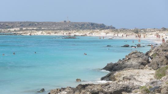 Strand von Elafonissi: _