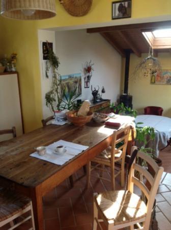 B&B Il bel Giardinetto : Sala colazione