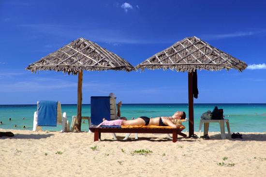 The Kib Resort & Spa: Beach Front Private Beach