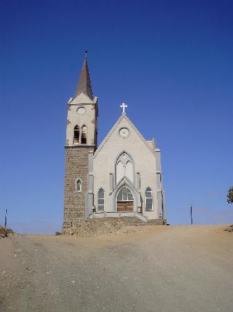 Luderitz, ناميبيا: The Rock Church in Lüderitz 