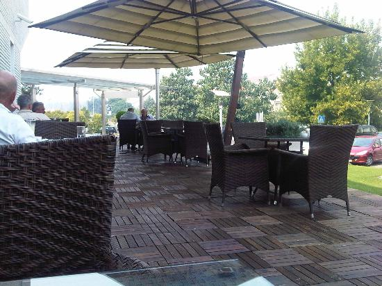 Hotel City: bar esterno