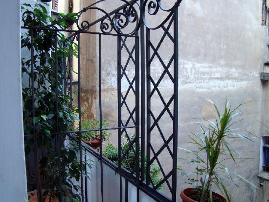 Hotel Martini: балкон 