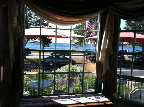 Harborview Inn: View from the dining area.