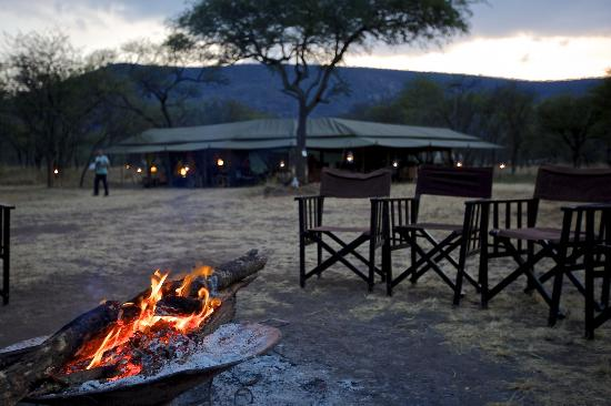 Dunia Camp, Asilia Africa: Spending time around the fire at night was a highlight