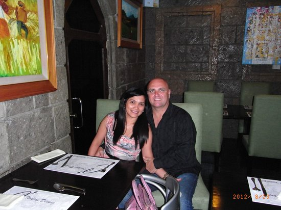 C'Italian Dining :                   Advance Birthday celebration with my hubby
