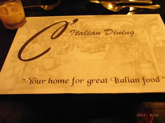 C'Italian Dining :                   Advance Celebration at C Italian