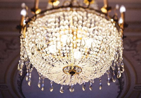 Hapimag Resort Bad Gastein : chandelier