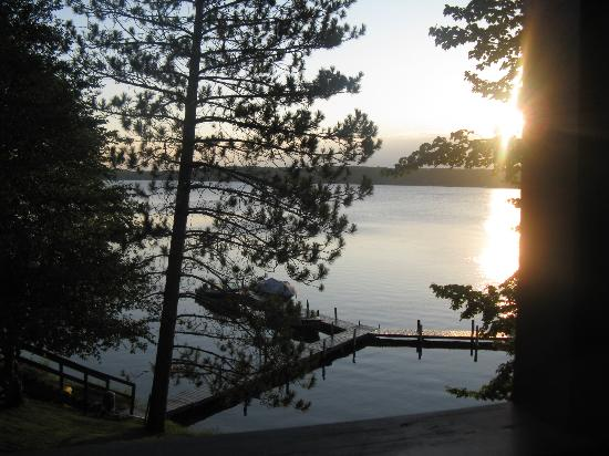 Cragun's Resort on Gull Lake : View from balcony