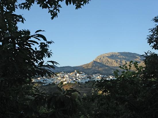 Hotel Los Castanos: The village of Cartajima