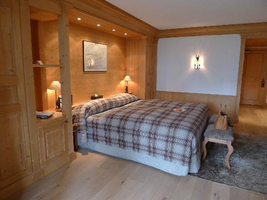 Chalet RoyAlp Hotel & Spa : beautiful room with a balcony