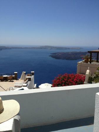 Irini's Villas Resort: vista dal nostro balconcino