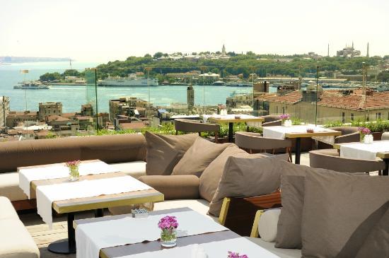 Georges Hotel Galata: Sultanahmet views