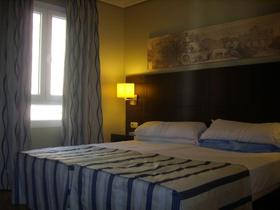Ganivet Hotel: style de la chambre coté rue