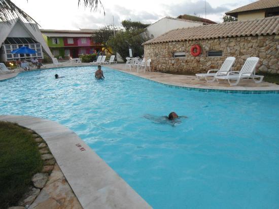 Prodigy Beach Resort Marupiara: Uma das piscinas com cascata