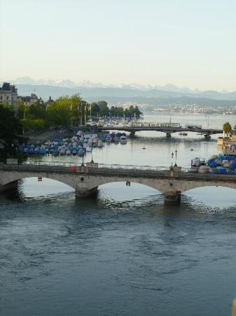 Storchen Zurich: View from our room!