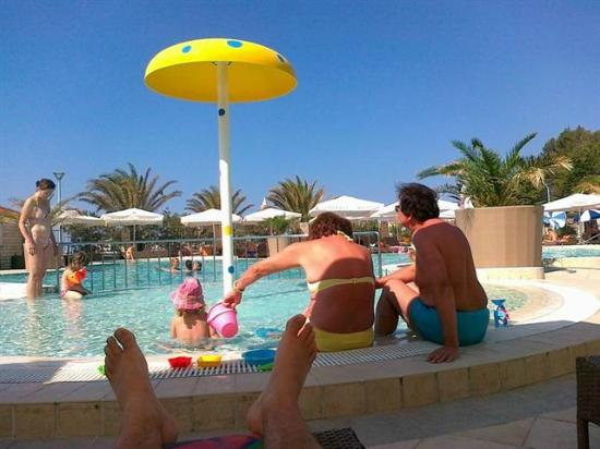Hotel Padova: Outside pool for children