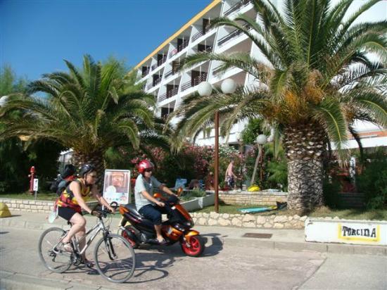 Hotel Padova: The seaside promenade