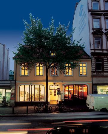 Galerie-Hotel Petersen : Galerie Hotel Außenansicht