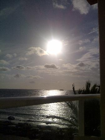 Hotel Garbi Ibiza & Spa: View from room 346 balcony 1st thing in the morning.