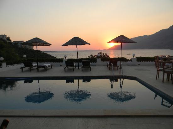 Arpia Hotel: al tramonto