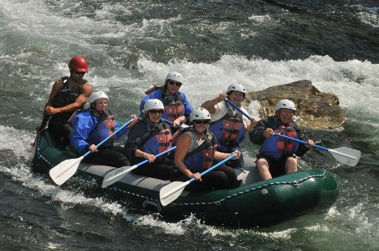 Geyser Whitewater Expeditions: Great time White Water Rafting in Big Sky MT