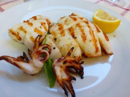 La Ciurma del Pescatore : Seafood grill