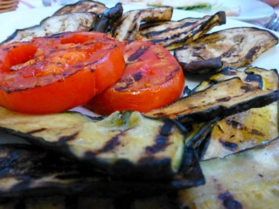 La Ciurma del Pescatore : Grilled vegetables