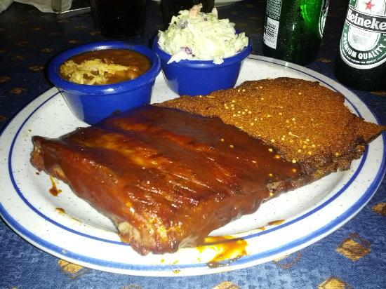 Red Hot & Blue: The half wet, half dry ribs