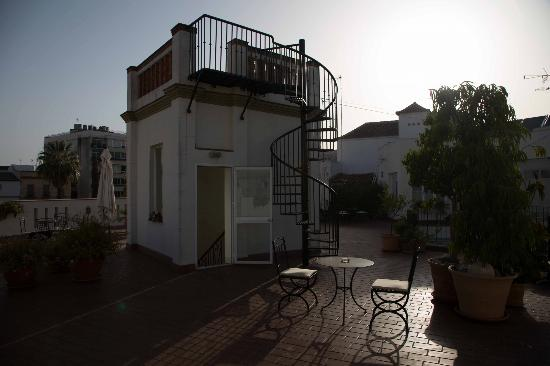 Casa Grande: rooftop terrace