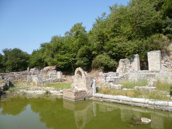 Butrint National Park: restes d'une villa romaine
