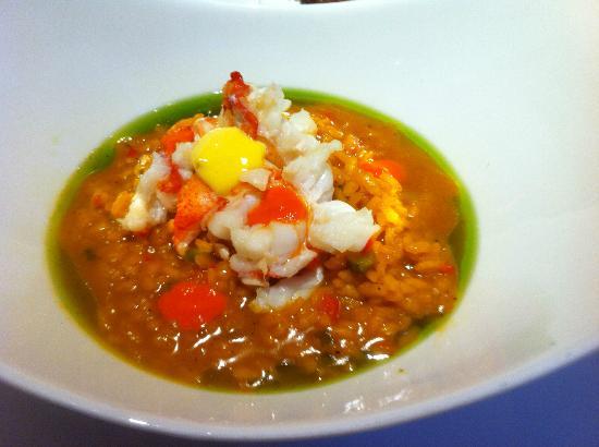 Gastroarte: Saffron creamy rice with lobster