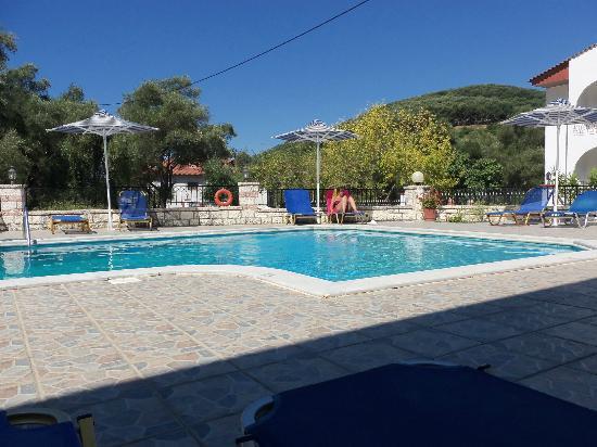 Mara Studios and Apartments : pool area