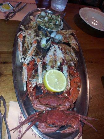 Don Chuleton : Parrillada de mariscos