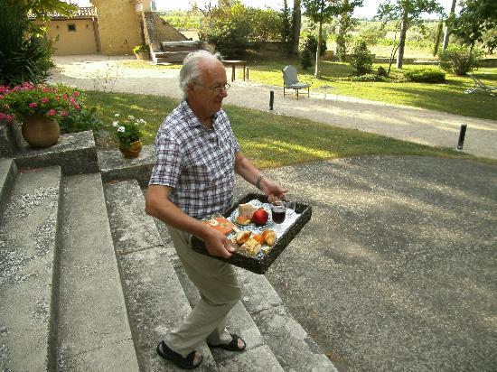 Chateau Juvenal: ontbijt altijd vers !