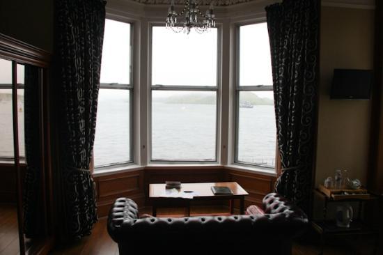 Kilchrenan House: vista mare