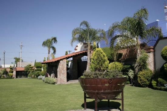 Real Pueblo Bonito: jardin para eventos
