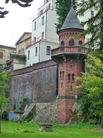 Bezrucovy sady: tower